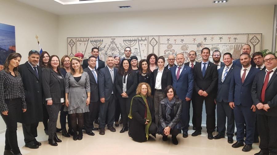 ביקור בשגרירות ישראל - צרפת